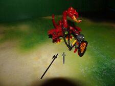 Playmobil 3327 Feuerspeiender Drache mit Ritter