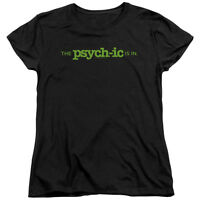 Psych TV Show THE PSYCH-IC IS IN Licensed Women's T-Shirt All Sizes