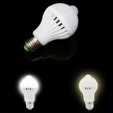 7W E27 LED PIR Motion Sensor Auto Energy Saving Light Lamp Bulb Infrared