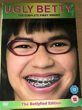 America Ferrara UGLY BETTY: SEASON 1 ~ Fashion Industry Comedy Series UK DVD