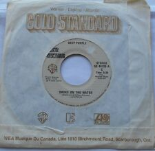 *DEEP PURPLE Smoke on the water / Woman...VG++ to NM- CANADA WB GOLD STANDARD 45
