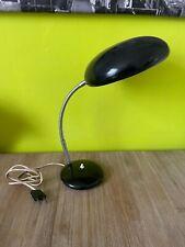 Ancienne lampe noir vintage 50 cm de haut