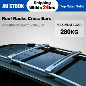 280KG Roof Racks Cross Bars for Mitsubishi Pajero 1999-2020 with Key Access