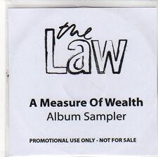 (EQ579) The Law, A Measure Of Wealth (Album Sampler) - 2009 DJ CD