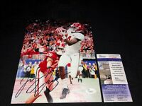JERRY JEUDY ALABAMA CRIMSON TIDE SIGNED 8X10 PHOTO JSA COA SD66941