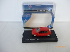 SOLIDO 1519 RENAULT CLIO - 1:43 SCALE DIE-CAST  red NM Boxed RARE