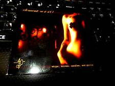 Whips, Knives, Candles & Quills by Element A440 (CD 2013) goth industrial