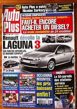AUTO PLUS du 12/6/2007; Laguna 3/ Nissan X trail/ Essai Toyota Auris