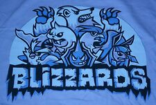 """Blizzards"" Ice Type Team Logo Men's XXL Shirt Theyetee"