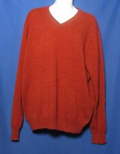 Jos A Bank Red Cashmere Sweater Size Large
