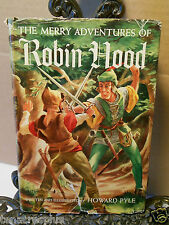1946 The Merry Adventures of Robin Hood Howard Pyle Scribners A Thrushwood Book