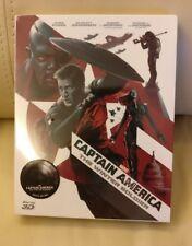 Captain America 2 Bluray Steelbook, Fullslip New/Sealed/READ, Novamedia 100/1000