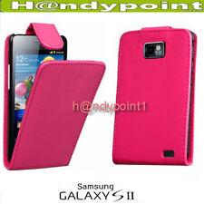 Samsung Galaxy i9100 S2 Premium Tasche Hülle Etui FlipStyle Case Pink Case