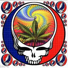 Grateful Dead pot leaf BLOTTER ART psychedelic