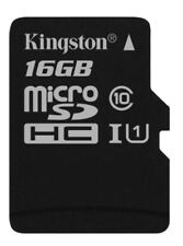 Kingston Canvas Select Micro SD SDHC Class 10 UHS-I 80MB/s - 16GB