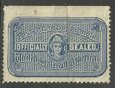 us post office seal scott ox13 -  issue of 1907