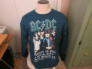 AC/DC HIGHWAY TO HELL Sweat Shirt new wot