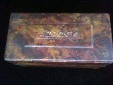 Vintage Azrock Sample Box Asbestos Tile Flooring Asphalt Vinyl Tile Composition