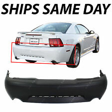 NEW Primered - Rear Bumper Cover For 1999-2004 Ford Mustang GT / Mach 1 99-04