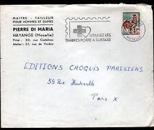 """HAYANGE (57) CONFECTION / MAITRE-TAILLEUR """"Pierre DI MARIA"""" en 1968"""