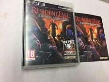 RESIDENT EVIL OPERATION RACCOON CITY  PS3  USATO