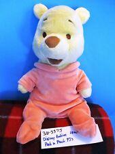 Disney Baby Winnie the Pooh in Peach Colored Pajamas plush(310-3375)