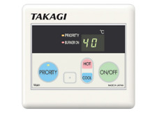 Thermastar Takagi Eternity Gas Water Heater Main Remote controller