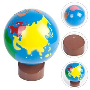 1Pc World Globe Durable Useful Early Education Toy Ornament Decoration