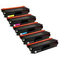 5 Pack Toner Cartridge for Brother TN336 HL-L8350CDWT MFC-L8600CDW MFC-L8850CDW