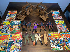 Vintage Mego Planet of the Apes Figure Lot Wagons Catapults Ursus Comics