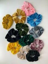 Pocket Scrunchie Hidden Zipper Multiple Colors
