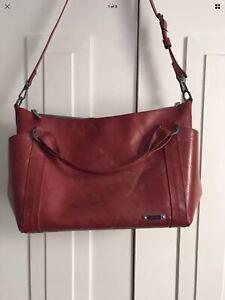 Freitag shoulder bag red