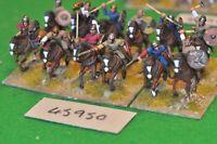 25mm roman era / goth - cavalry 12 figs (plastic) - cav (45950)