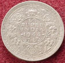 Quarto Rupia India 1944 (C1212)