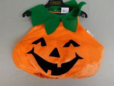 Cute Pumpkin Vest Infant, Toddler Halloween Costume 1-2 Years Vest Only #R113