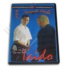 Iaido #2 Dvd Sueyoshi Akeshi japanese samurai sword fighting Shuegendo kendo