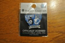 Detroit Lions VS Los Angeles Rams Game Day Pin December 2, 2018 Ford Field