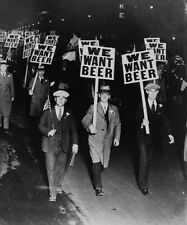 PROHIBITION PROTEST WE WANT BEER GLOSSY POSTER PICTURE PHOTO PRINT ALCOHOL BAN