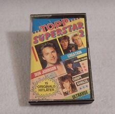 Topp Superstar 2 : Cassette - Don Johnson, Europe, Bangles, Ultravox, Creation