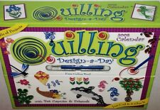 Quilling Design-a-Day 2008 Calendar, Pat Caputo New in Box Accord Publishing