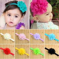 10 Stück Baby Kinder Blume Blüte Stirnband Schleife Haarband Mädchen Haarschmuck