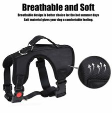 No Pull Dog Harness Pet Vest Walking Dog Harness Adjustable & Breathable Size S
