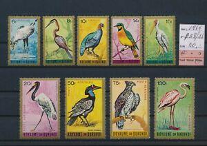 LN23919 Burundi 1965 birds animals fine lot MNH cv 20 EUR
