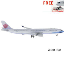 (Rare)1:400 Phoenix PH11249 China Airlines A330-300 B-18359+Free Tractor