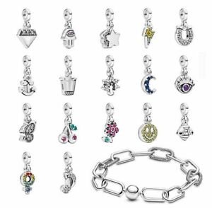 NEW 925 Sterling Silver New Arrivals ME Charms for Me Charm Bracelet ONLY