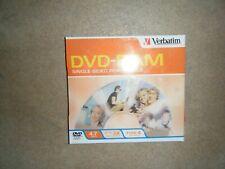 Verbatim Type 4 - 9.4GB Double-Sided DVD-RAM Disc Media - New