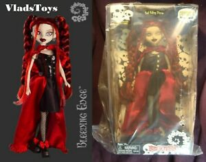 """Bleeding Edge Begoths 12"""" Gothic Figure Series 5 Red Riding Storm New Old Stock"""
