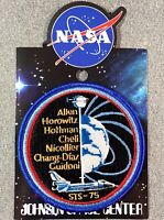 """NASA STS-75 MISSION PATCH Official Authentic SPACE 4"""" USA"""