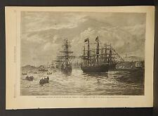 Harper's Weekly Single Page B1#88 Dec 1878 New Regime in Canada