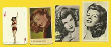Corinne Calvet Fab Card Collection On the Riviera Peking Express  French actress